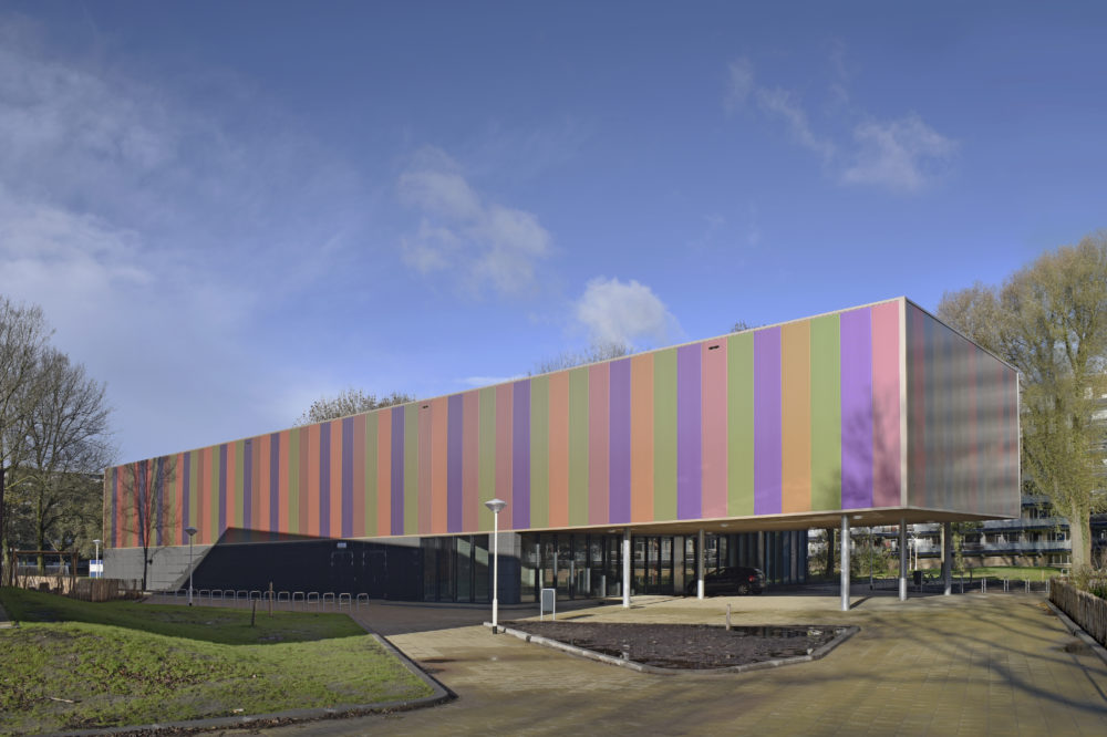 gevel MultiFunctioneel Sportcentrum Zoetermeer