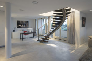 trap penthouse Carnisserhoeck Barendrecht