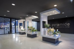 Pyramide Flora Holland interieur